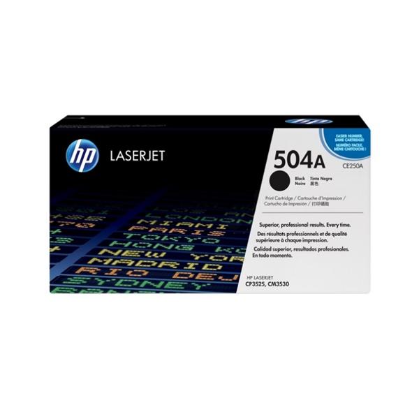 HP Toner schwarz CLJ CP3525 (bis zu 5000 Seiten)