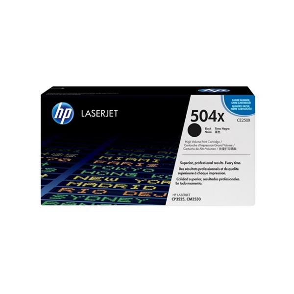HP Toner schwarz CLJ CP3525 ca. 10.500 Seiten