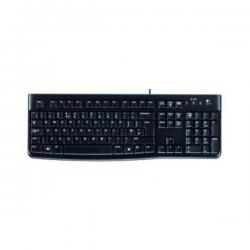 Logitech K120 Tastatur, USB, schwarz, Tastatur-Layout Deutsch