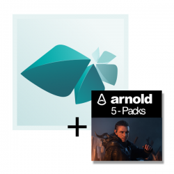 Autodesk M&E Collection Annual Single-User + 5er-Pack Arnold