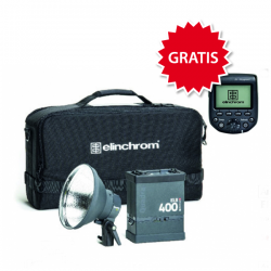 Elinchrom ELB 400 HS to go Set inkl GRATIS Transmitter Olympus