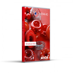 MAXON Cinema 4D Broadcast Upgrade auf kommerzielle Vollversion