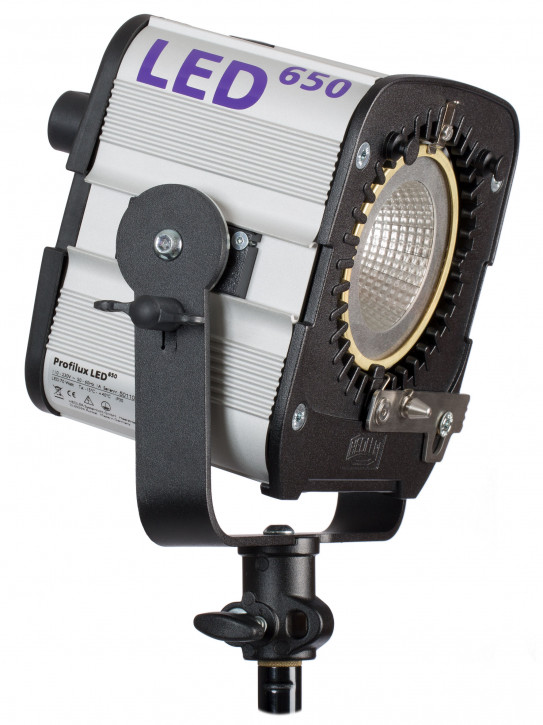 HEDLER Profilux® LED 650 mit ca. 5600 Kelvin und CRI>96