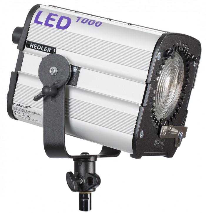 HEDLER Profilux® LED 1000 mit ca. 5600K und CRI>95