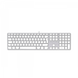 Apple Keyboard mit numerischer Tastatur - Deutsch