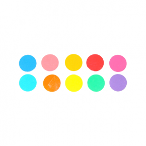 Elinchrom Folien Set mit 10 Farbfolien