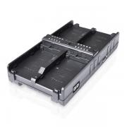 Cineroid V-Mount battery Hub 4 in 1; inkl. Netzadapter