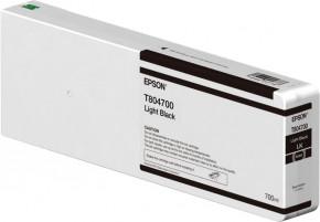 EPSON Tinte light schwarz  für SC P6000/P7000/P8000/P9000 700ml