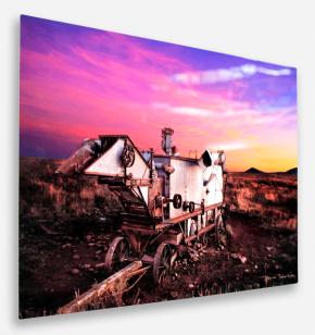 BREATHING COLOR Allure Aluminium Foto-Platten - 100x70cm