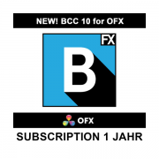 Boris FX BCC 10 für OFX Subscription 1 Jahr