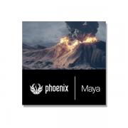 Chaosgroup - Phoenix FD für Maya +5 Simulation Lizenzen