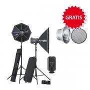 Elinchrom BRX 500/500 Softbox to go Set inkl. GRATIS 1 Reflektor-