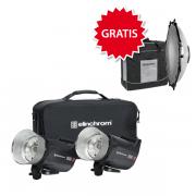 Elinchrom ELC Pro HD 1000/1000 to Go inkl. GRATIS 1 Softlite Refl