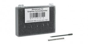 Graphtec Stahlmesser 0,9mm 60° für Flock und mittelstarke Medien