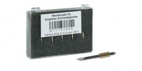 Graphtec Stahlmesser 1,5mm 60° für Medien bis 1,5mm
