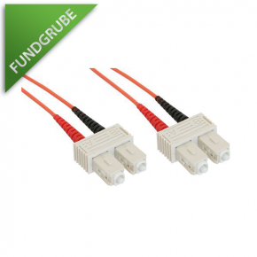 LWL-Kabel SC/SC 50/125µ Duplex 3m