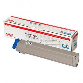 OKI Toner cyan für OKI C9600/C9650/C9800/9850/C9800MFP/C9850MFP